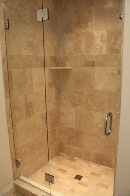 Custom tile bathrooms showers traditional other for Bathroom designs 12x12
