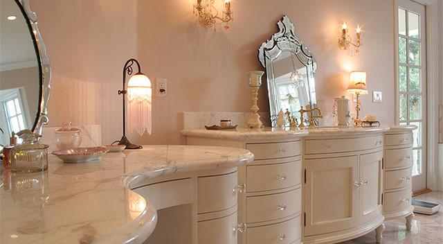 Custom Traditional French Bathroom Vanity Traditional