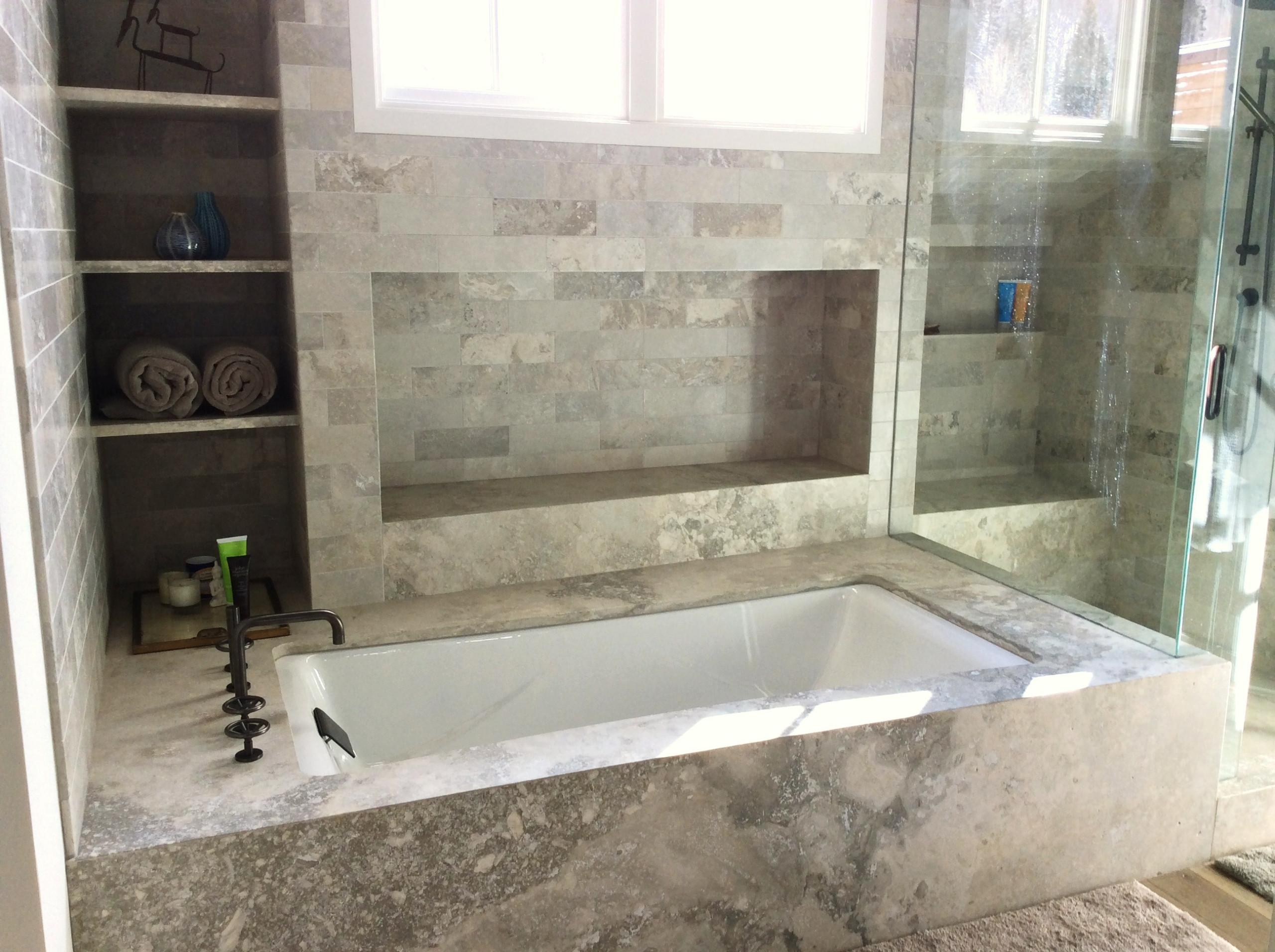 Custom Tub & Shower Surround