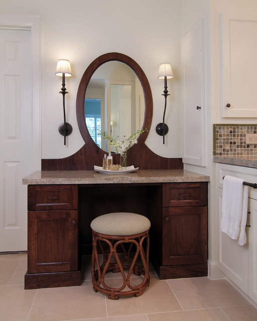 Custom Vanity traditional bathroom