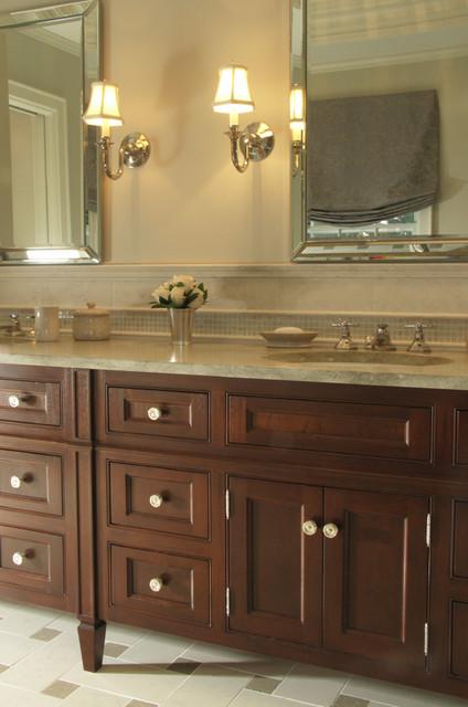 Custom vanity for Master Bathroom traditional-bathroom