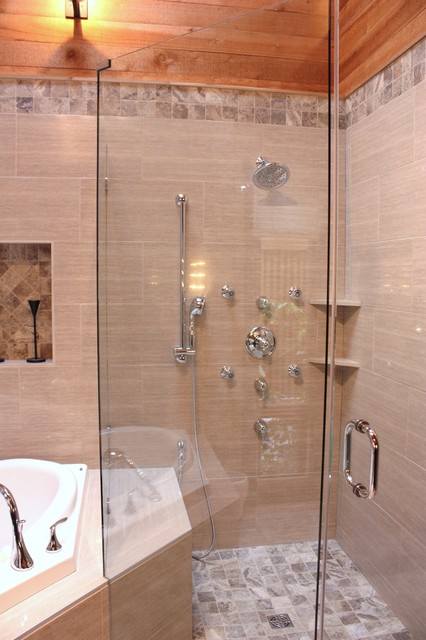 Customer Schluter Shower system - Contemporary - Bathroom - other metro - by NovaRae Interiors