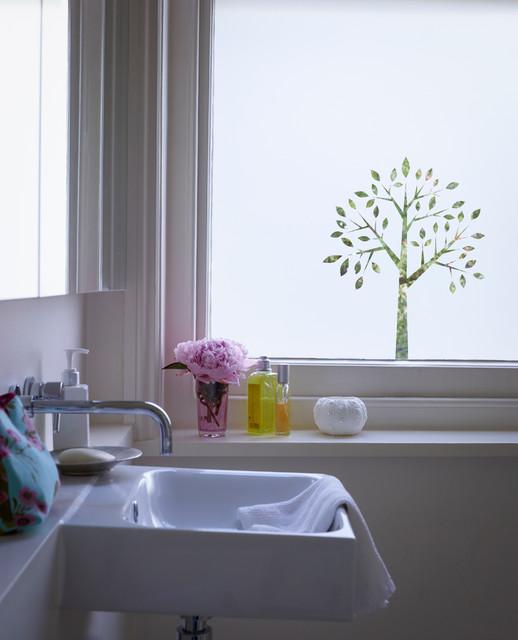 Cut Frost Window Film Design Fb068 Contemporary Bathroom Buckinghamshire By The Window