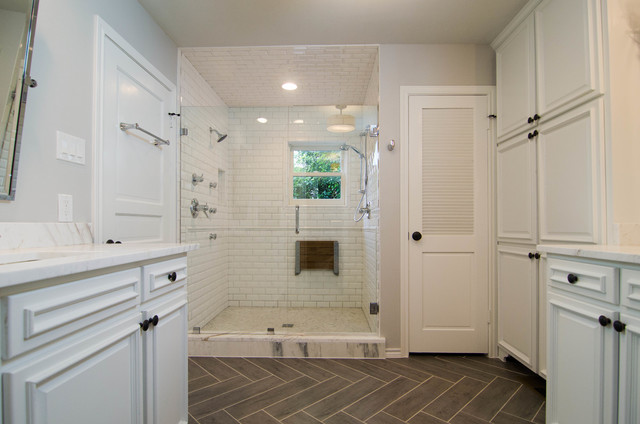 Dallas Bathroom Remodel Transitional Bathroom Dallas By H Design