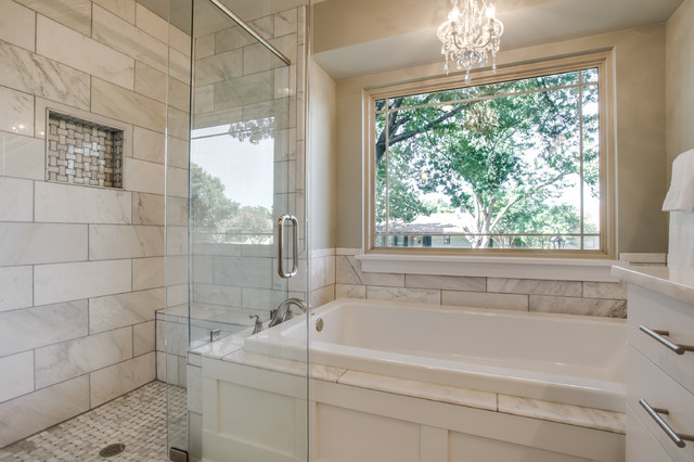 Dallas Full Home Remodel Traditional Bathroom Dallas By Benoah Renova