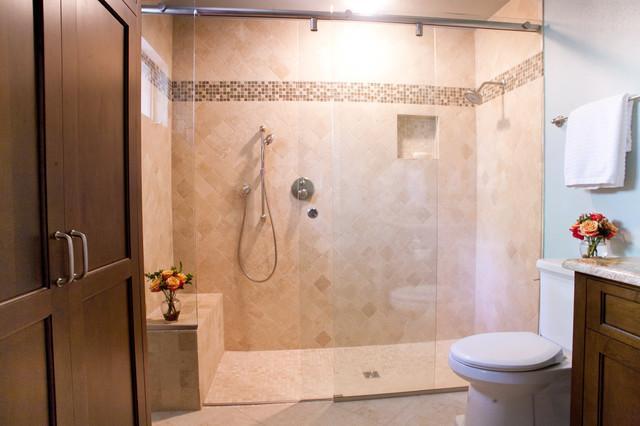 Dallas Oak Cliff 2 Bath Traditional Bathroom Dallas By Kitchen Design Concepts