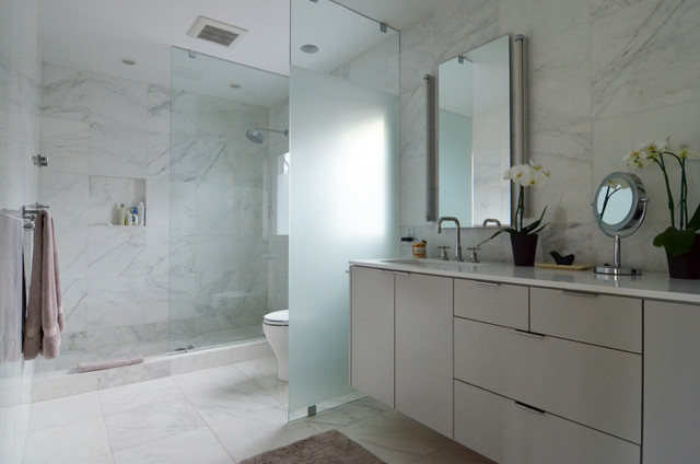 dallas, tx: lenore locascio - contemporary - bathroom - dallas