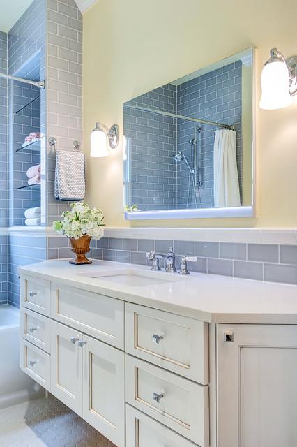 Dallas Vanderbilt Guest Bath Transitional Bathroom