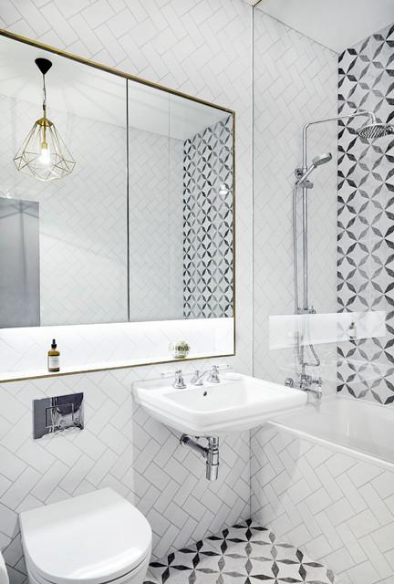 Dalston house contemporary bathroom