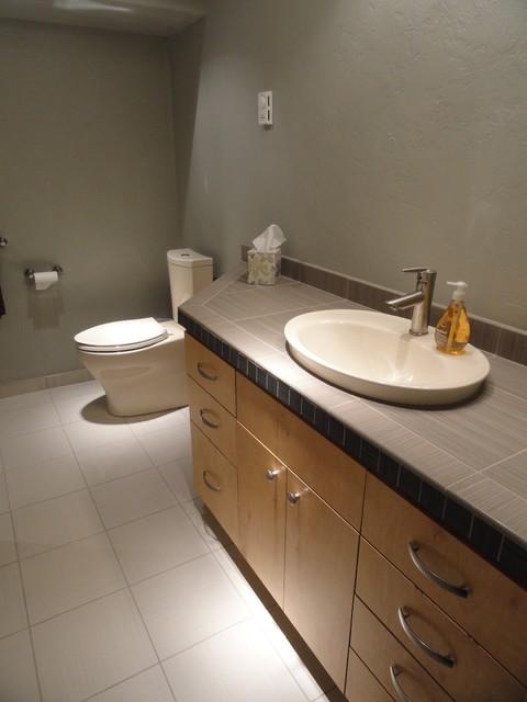 Daltile Fabrique Contemporary Bathroom By