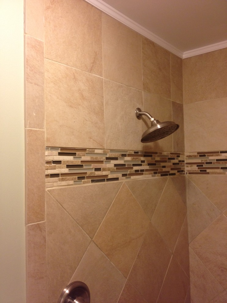 Daly Bathroom Remodel / Mold Removal - Traditional ...