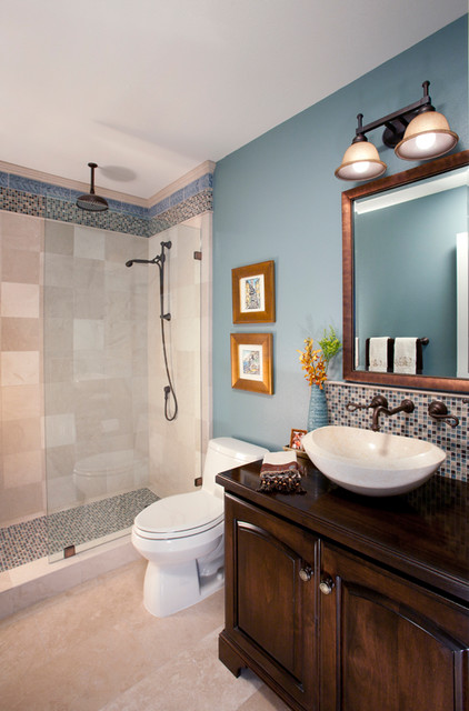 Dana Point Vacation Home traditional-bathroom
