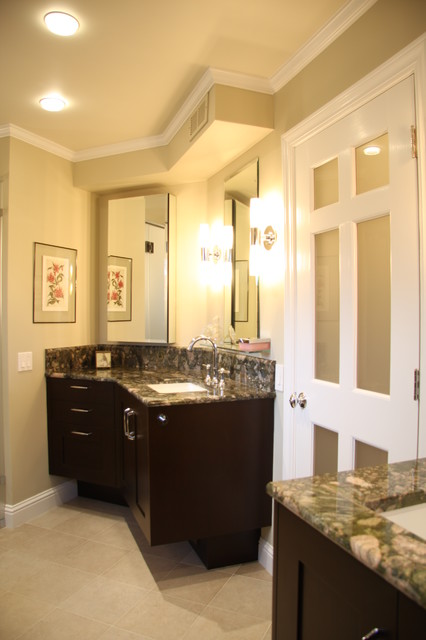 Danenberg Design Menlo Park Bathroom Remodels contemporary-bathroom