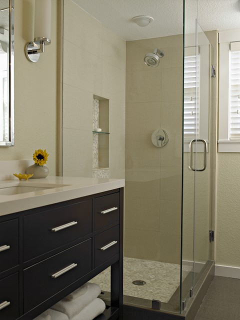 Danville Remodel contemporary-bathroom