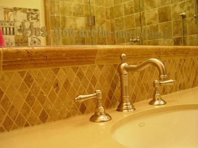 Danville residence mediterranean-bathroom