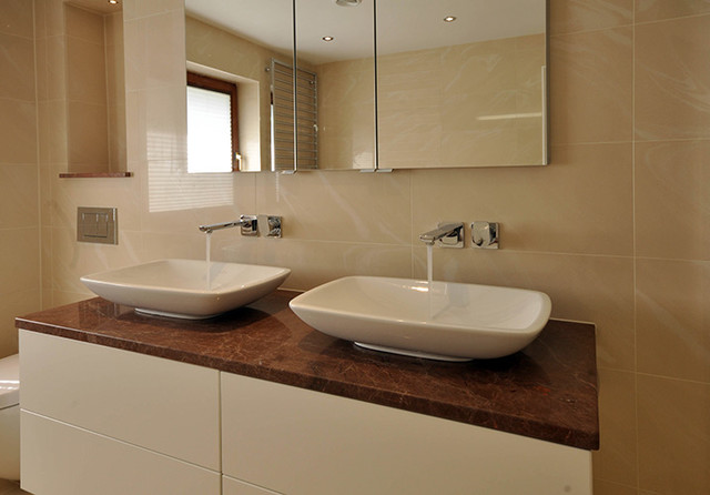 David Carrier Bathrooms contemporary-bathroom