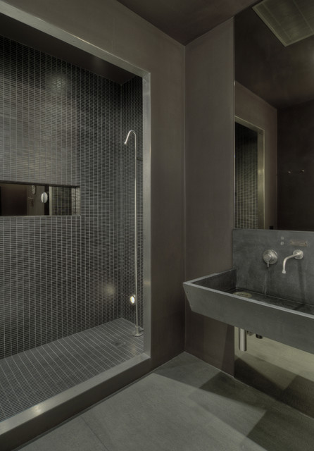 Charmant David Howell Design Industrial Bathroom