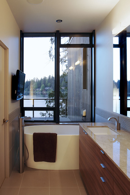 David Vandervort Architects AIA modern bathroom