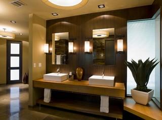 Contemporary Bathroom by Austin General Contractors
