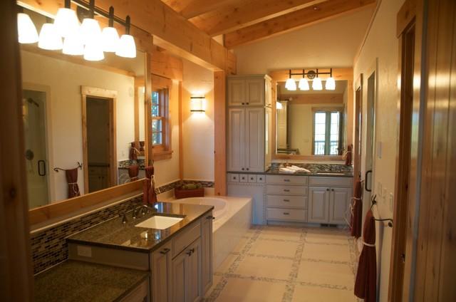 Davis Peak traditional-bathroom