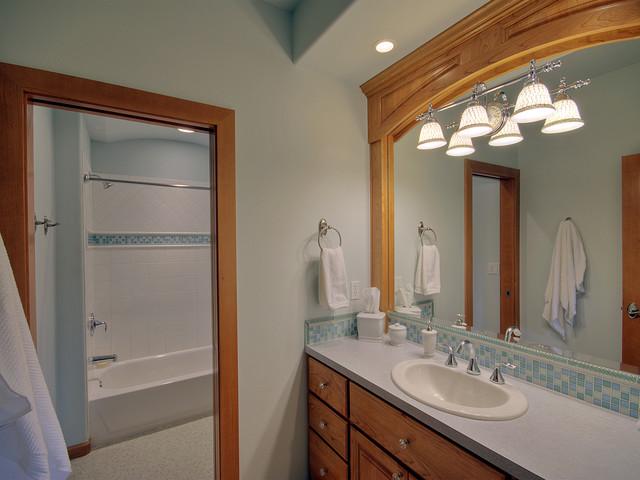 Davis Residence: Snohomish, WA traditional-bathroom
