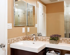 DC Condo Bathroom contemporary-bathroom