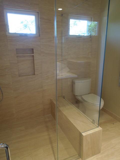 Deb's Remodel/Addition/Landscape project contemporary-bathroom