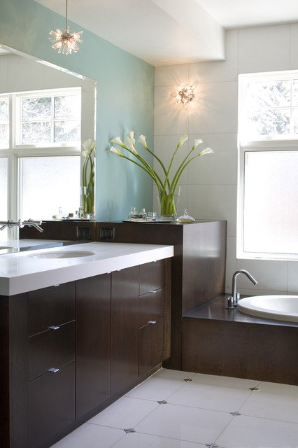 Debra Toney Baths contemporary-bathroom