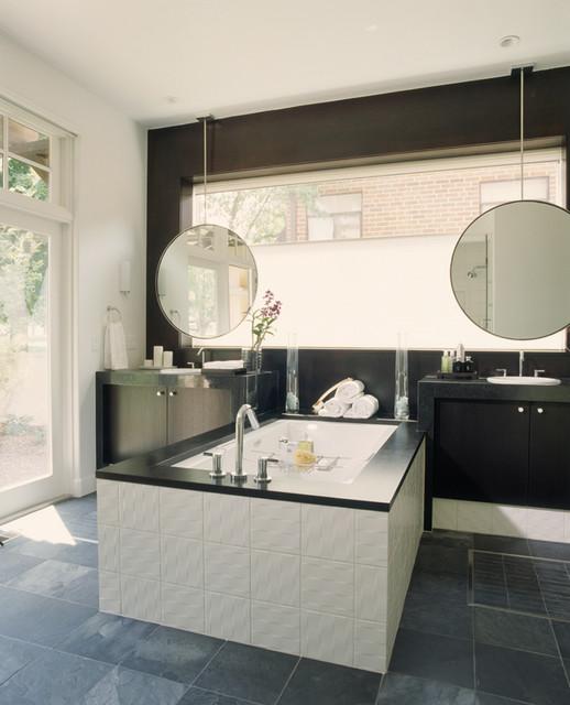 Debra Toney Baths modern-bathroom
