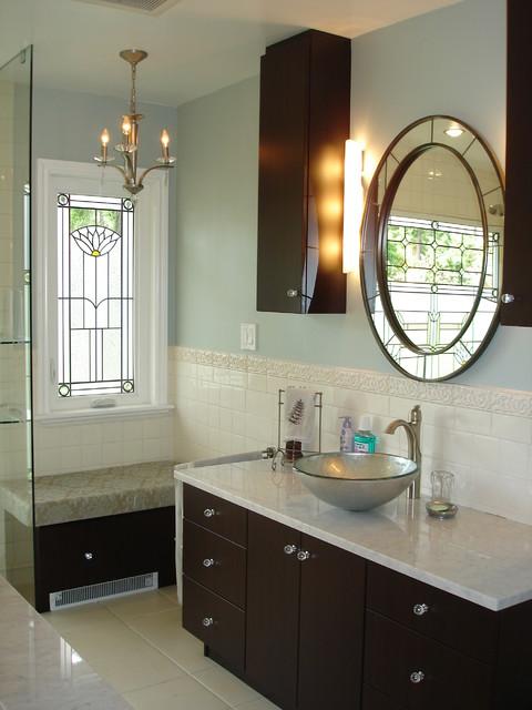 Deco contemporary-bathroom