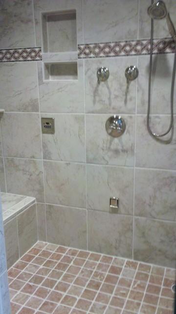 Decorating Junkies traditional-bathroom