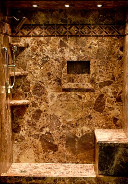 Decorative Interior Shower & Tub Wall Panels traditional-bathroom