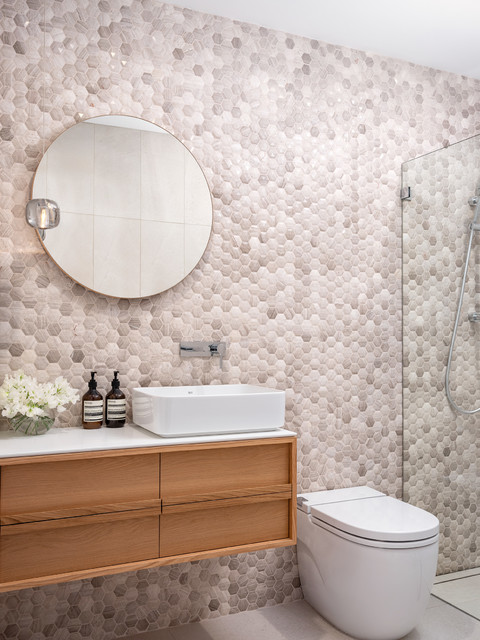 Dee Why Residence contemporary-bathroom