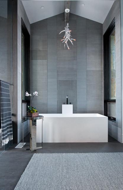 Deer Valley contemporary-bathroom