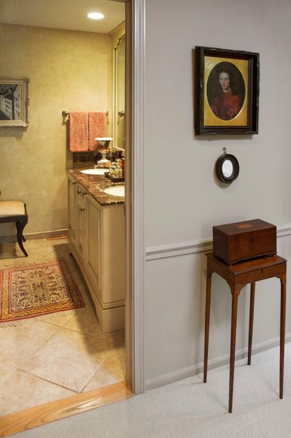 Deerfield Residence traditional-bathroom