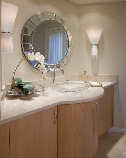 Contemporary Bathroom in Neutrals