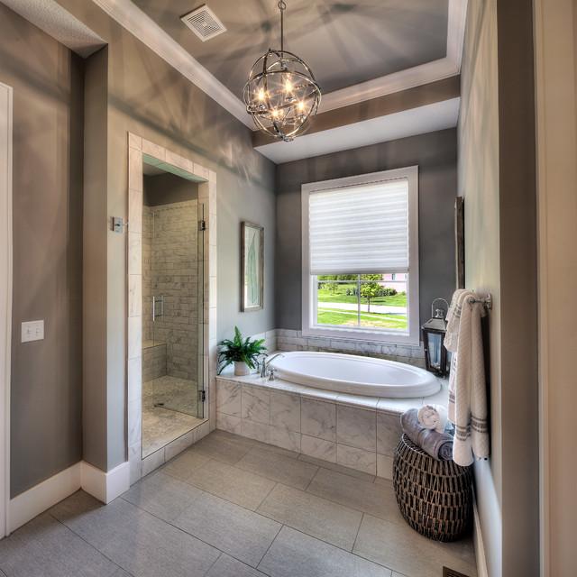 del mar floor plan craftsman bathroom kansas city by starr homes. Black Bedroom Furniture Sets. Home Design Ideas