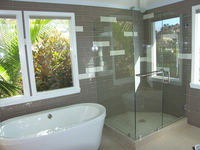 Del Mar, San Diego, Ca. Full home Makeover contemporary bathroom