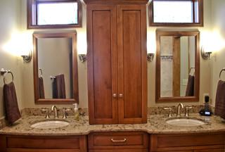 Delafield master bath remodel traditional bathroom for Bathroom remodel milwaukee