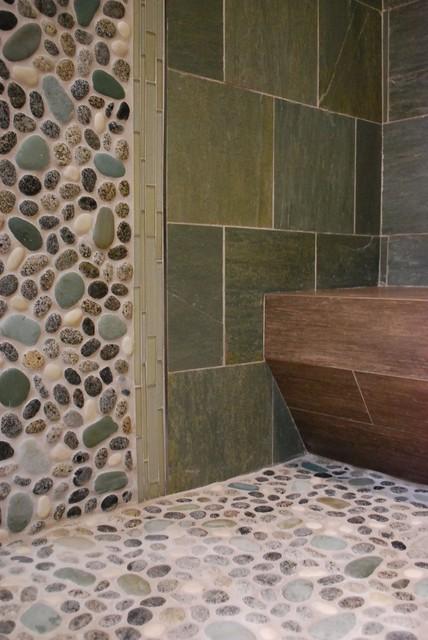 DELAWARE STREET, Huntington Beach, CA: ZEN SPA transitional-bathroom