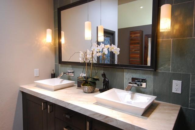 Delaware Street Huntington Beach Ca Zen Spa Traditional Bathroom Orange County By