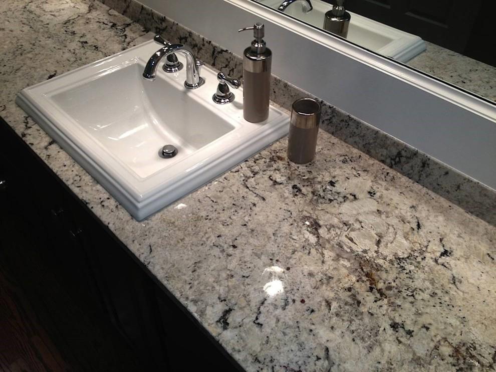 Elegant bathroom photo in Birmingham