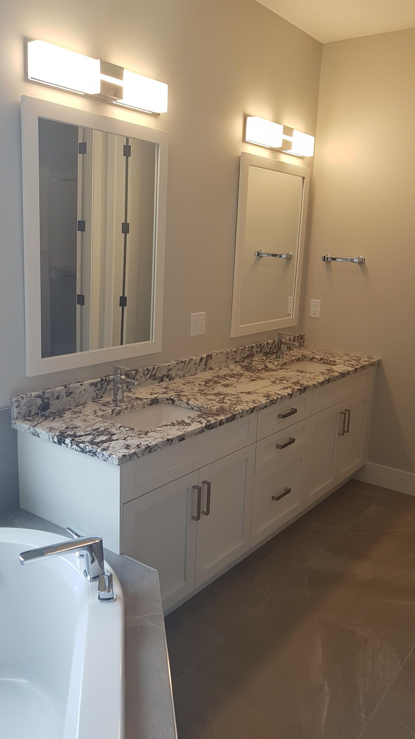 Delicatus White Supreme Granite Countertop