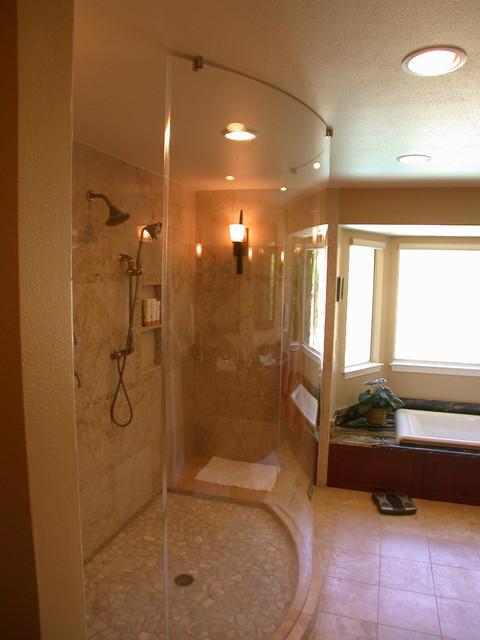 Delker Master Bath Contemporary Bathroom San Francisco By Amarant Design And Build Center