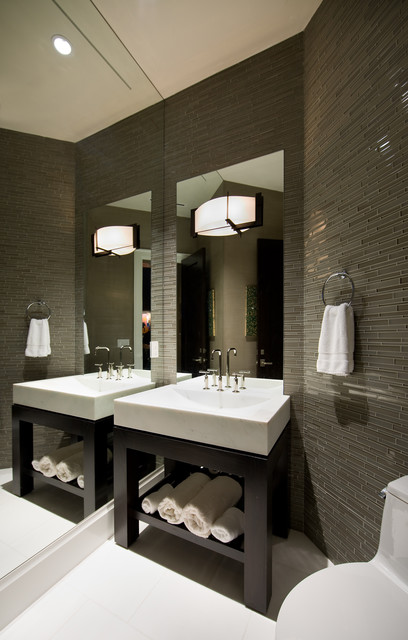 Dell - Private Residence in Winter Park, FL contemporary-bathroom