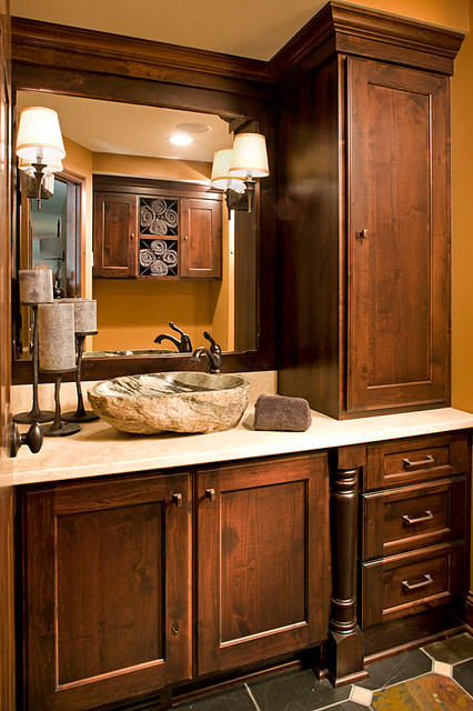 Dellwood Mn Kitchen And Lower Level Remodel Traditional Bathroom Minneapolis By Ispiri