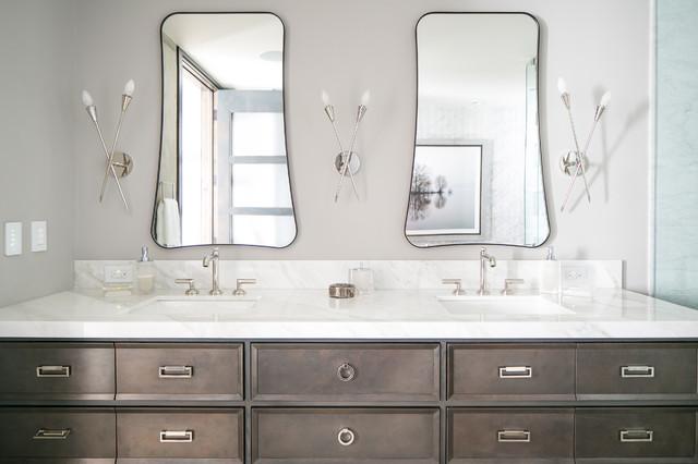 Denver Colorado Residence Loft Style Bathroom Vanity Modern Bathroom Denver By Robeson Design