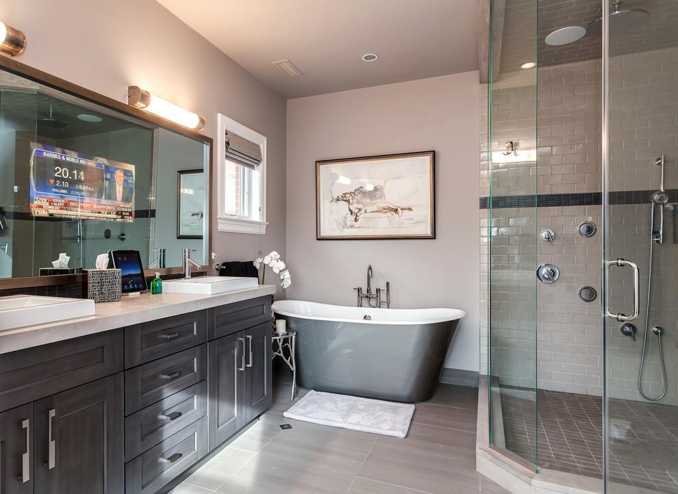Denver Home Remodel - Transitional - Bathroom - Denver ...