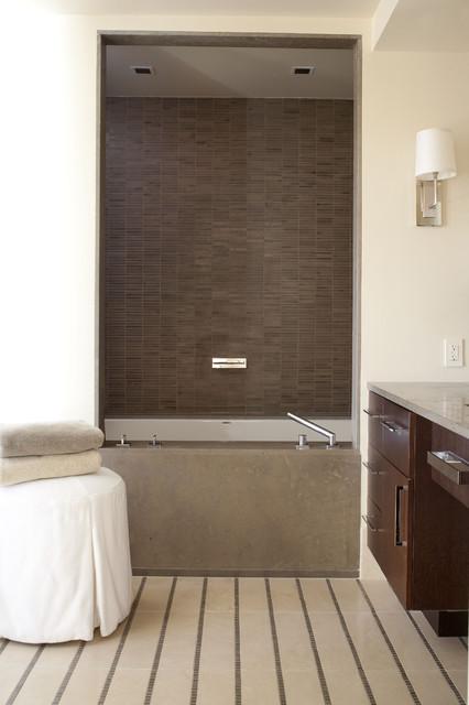 Denver ranch contemporary bathroom denver by d d for Modern ranch bathroom