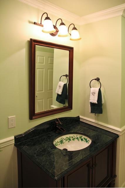 Denville nj main bath renovation traditional bathroom for Bathroom designs nj